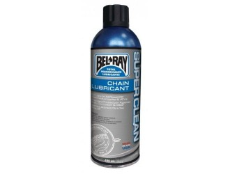 BEL-RAY SUPER CLEAN CHAIN LUBE SPRAY 400ML