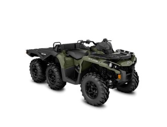 Can-Am Outlander 6x6 DPS- Flat Bed 650 '20