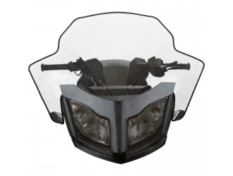 Can-am  Bombardier High Sport Performance Flared Windshield - (REV-XR, XU)