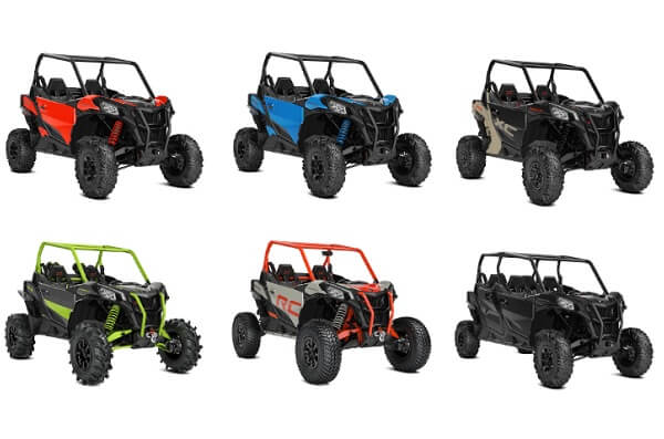 Lineup-ul 2021 CAN-AM MAVERICK SPORT